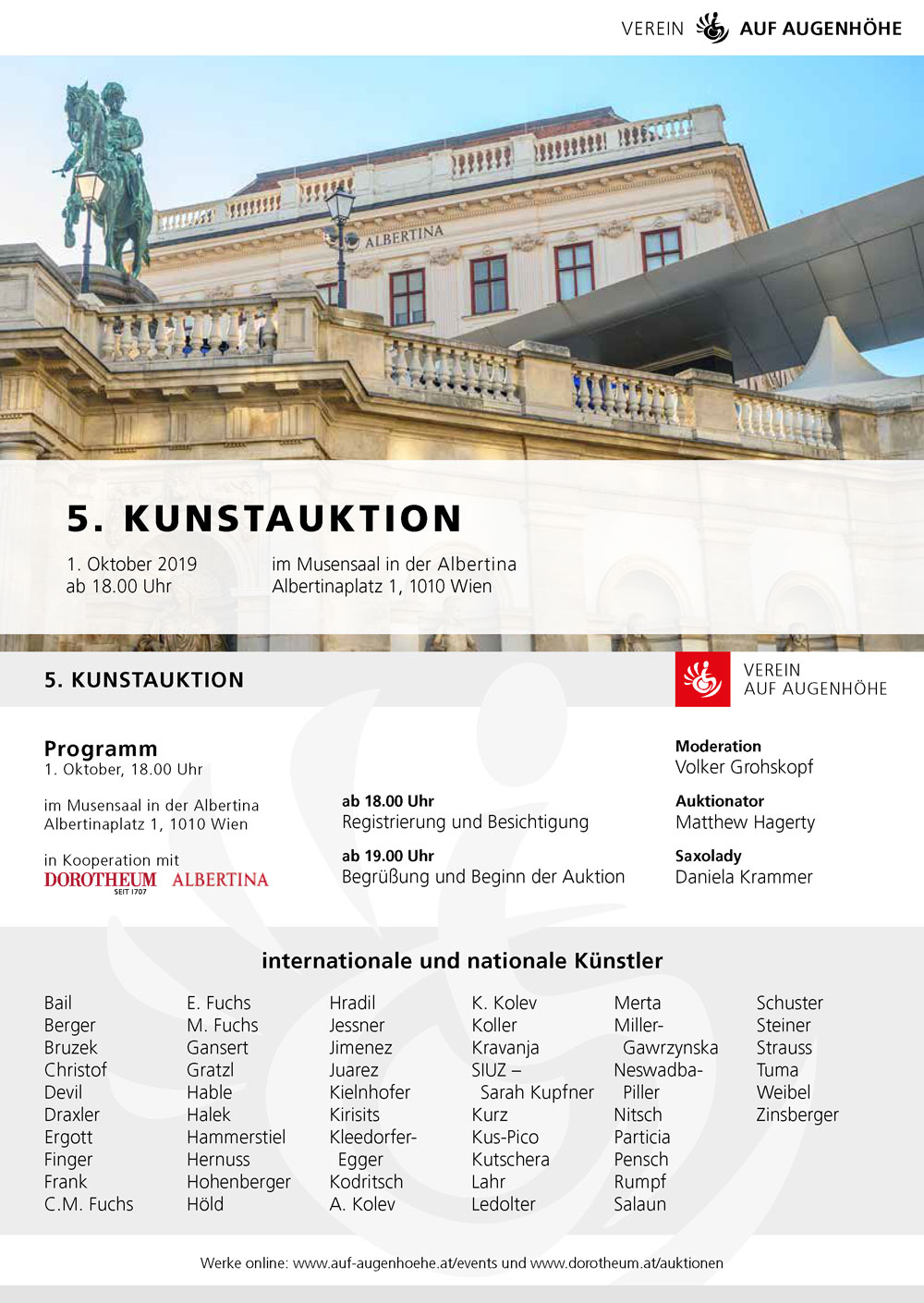 kunstauktion in der albertina