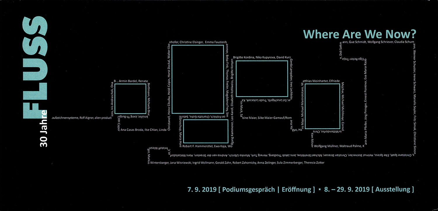 30 Jahre FLUSS – Where Are We Now?